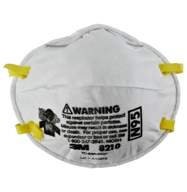 3M Mask N95 Respirator 8210