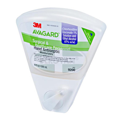 3M Avagard Antim Sol Us Wedge Bottle 9200