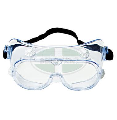 3M Goggle Chemical Splash 334AF