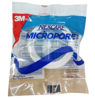 3M Micropore Plastr 1/2 x 2.5m