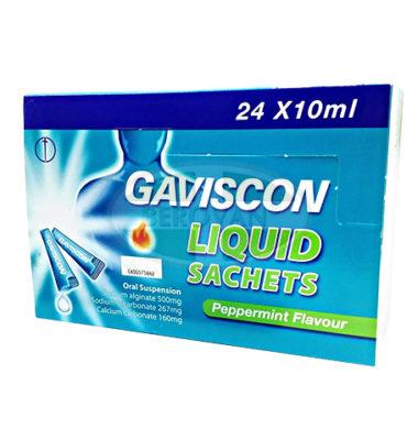 Gaviscon 10ml Sachet x 24S