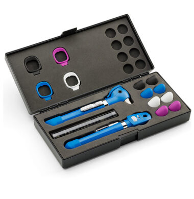Welch Allyn LED 2.5V Diagnostic Set Pocket Plus W/ Blu Case