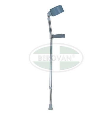 MS Crutches Forearm Chrome FS933L