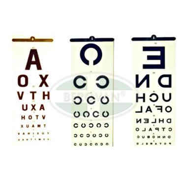 MS Chart – Eye (Literate)