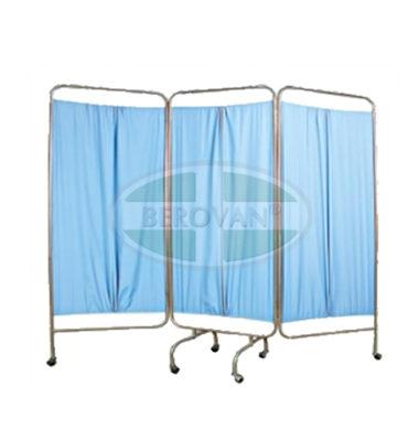 MS Screen -3 Panel W/ Curtain (Blue) FS5605S