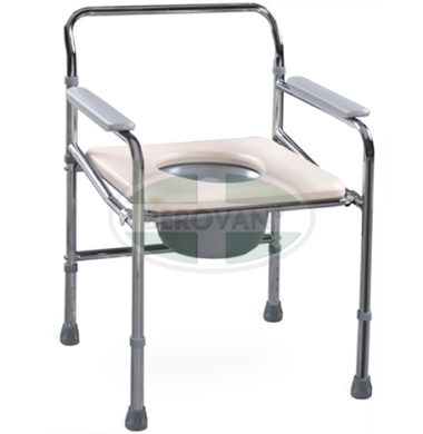 MS Commode Chair Steel Folding FS896
