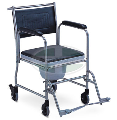 MS Commode Chair With Wheels FS691S