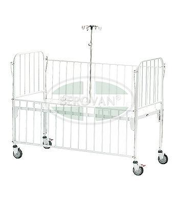 MS Pedia Crib With IV Pole 33605B