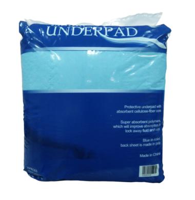 MS UNDERPADS 28X30 BLUE PK/25S CS/100S